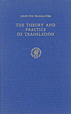 The Theory and Practice of Translation by…