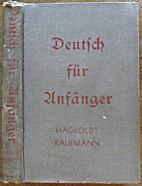 Deutsch für Anfänger; An Inductive…