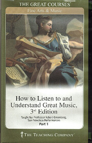 The Teaching Company: How to Listen to and…