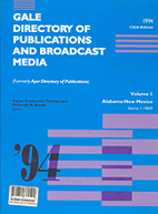 Gale Directory of Publications and Broadcast…