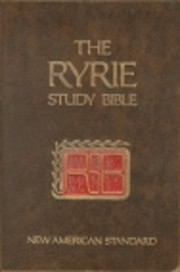 The Ryrie Study Bible, New Testament: New…