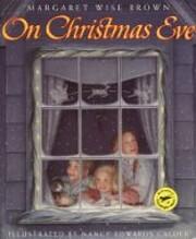 On Christmas Eve de Margaret Wise Brown