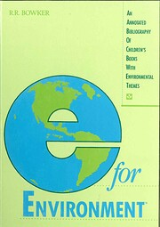 E for Environment: An Annotated Bibliography…