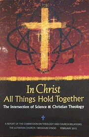 In Christ all things hold together the…