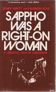 Sappho Was a Right-On Woman av Sidney Abbott