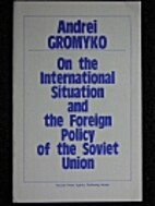 Report at the Session of the USSR Supreme…
