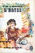 Chambre d'hôtel by Sidonie-Gabrielle…