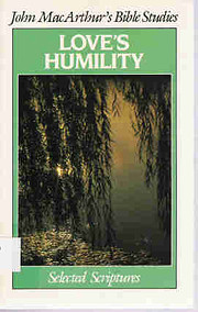 Love's Humility: Selected Scriptures por…