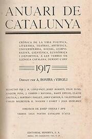 Anuari de Catalunya 1917 av Antoni…
