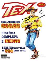 Tex - Numero 500 + Caderno de capas af…