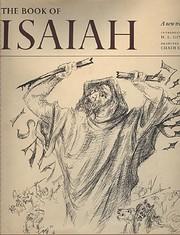 The book of Isaiah de Bible. O.T. Isaiah.…