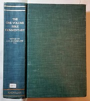 The One Volume Bible Commentary av John R.…