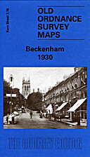OS Godfrey Edition - Beckenham 1930 - Kent…