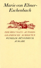 Erzählungen, Autobiographische Schriften (=…