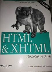HTML & XHTML : The Definitive Guide por…