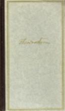 Sämtliche Werke in zwei Bänden. by Theodor…