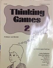Thinking Games, Book 2 av Valerie Anderson