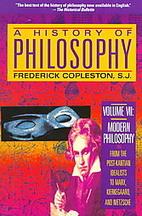 A History of Philosophy, Vol. 7 : Modern…