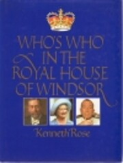 Who's Who in the Royal House of Windsor de…