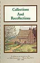 Collections and Recollections: A Collection…