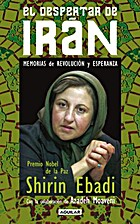 El despertar de Irán by Shirin Ebadi
