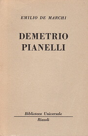 Demetrio Pianelli por Emilio De Marchi