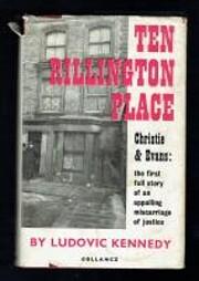 Ten Rillington Place door Ludovic Kennedy