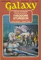 Galaxy Science Fiction 1973…