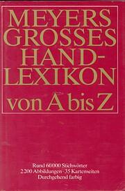 Meyers Grosses Hand Lexikon af Dr…