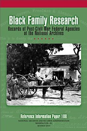 Black Family Research: Records of Post-Civil…