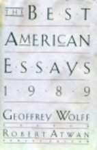 The Best American Essays 1989 by Geoffrey…