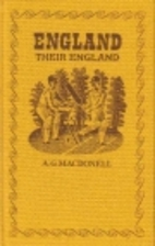 England, Their England by A. G. Macdonell