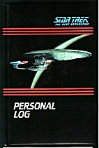 Star Trek the Next Generation: Personal Log…