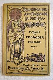 Tratado de Teología popular. Primera…