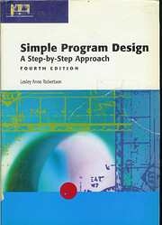 Simple Program Design: A Step-by-Step…