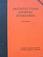 Architectural Graphic Standards 3RD Edition…