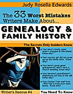 33 Mistakes Writers Make About Genealogy and…