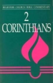 2 Corinthians: Believers Church Bible…