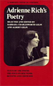 Adrienne Rich's Poetry: Texts of the…