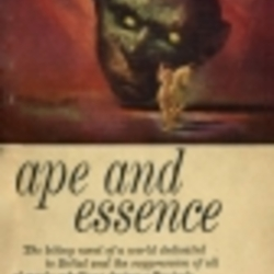 Ape And Essence By Aldous Huxley Librarything border=