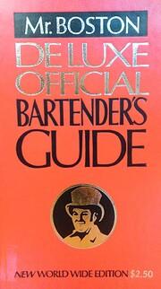 Mr. Boston Deluxe Official Bartender's Guide…