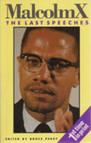 Malcolm X: The Last Speeches af Malcolm X