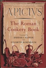 The Roman cookery book von Apicius