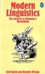 Modern Linguistics (Pelican) av Neil Smith