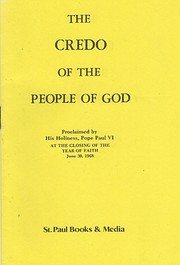 Credo the People of God