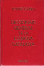 Diccionari general de la llengua catalana by…