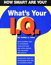 What's your I.Q.?: How smart are you?…