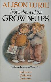 Not in Front of the Grown-Ups de Alison…