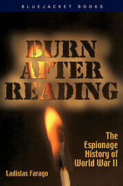 Burn after Reading de Ladislas Farago