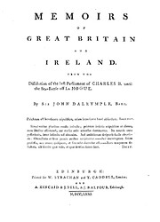 Memoirs of Great Britain and Ireland : From…